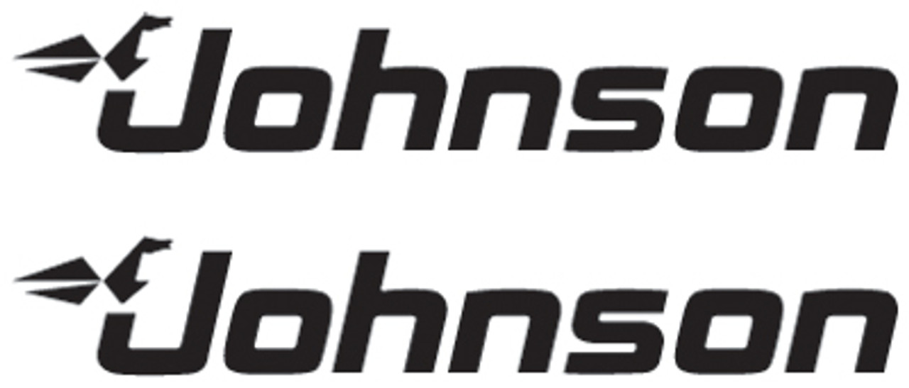 Johnson Outboard Boat Motor Logo Decal Sticker