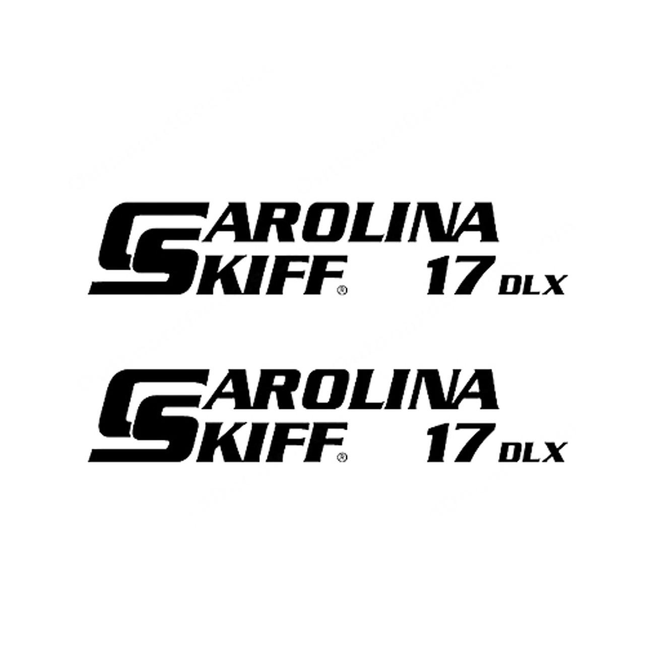 Carolina Skiff 17 Dlx Boat Vinyl Decal Kit