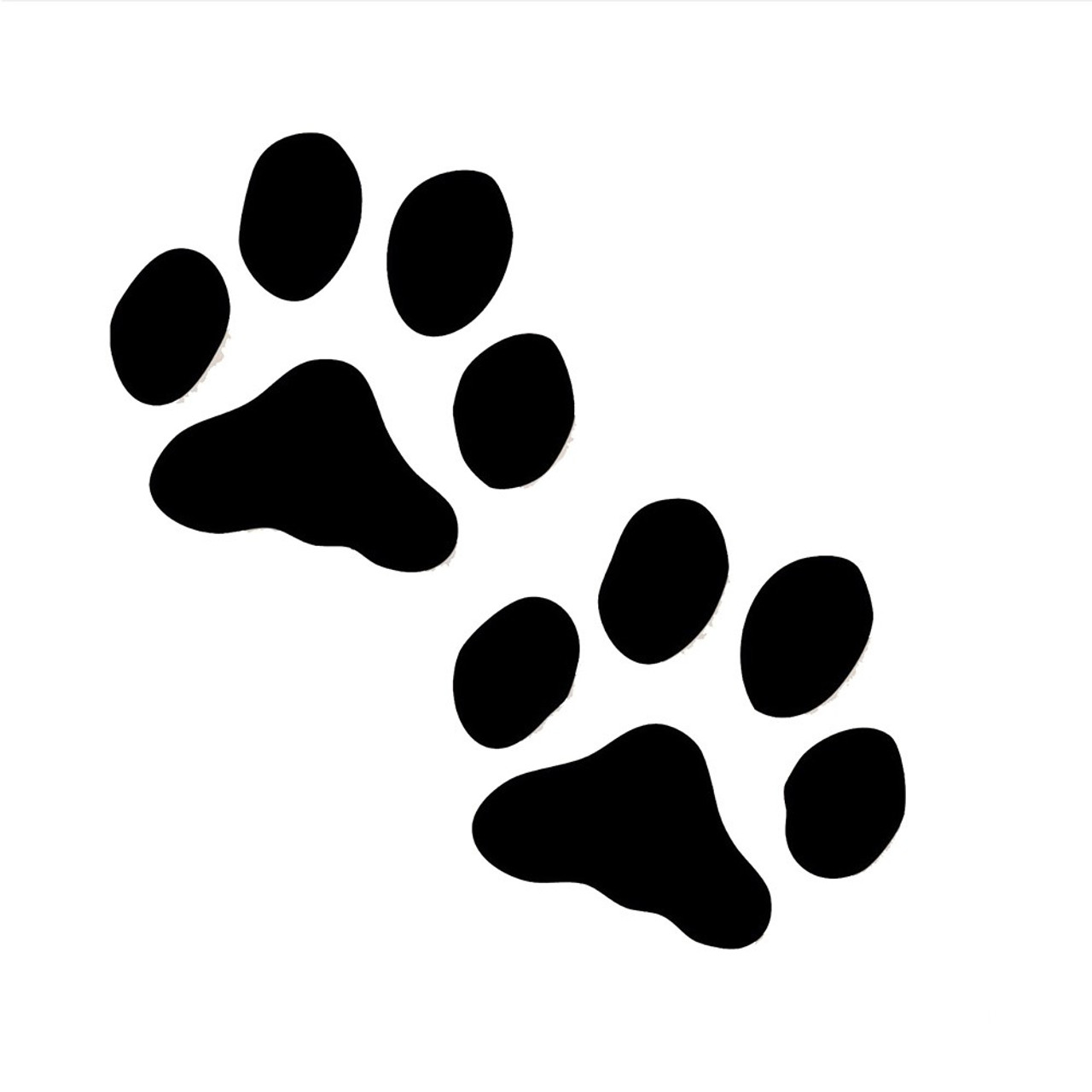 Dog Paws Vinyl Sticker