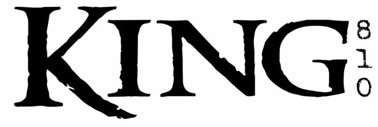 King 810 Band Logo Vinyl Decal Sticker