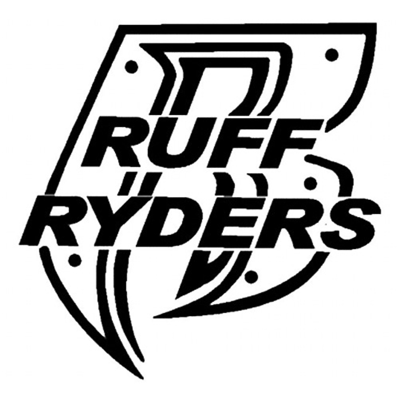 2020 Ruff Ryders Vinyl Decal Sticker Motorcycle Music Car Truck Laptop From Xymy797 3 12 Dhgate Com