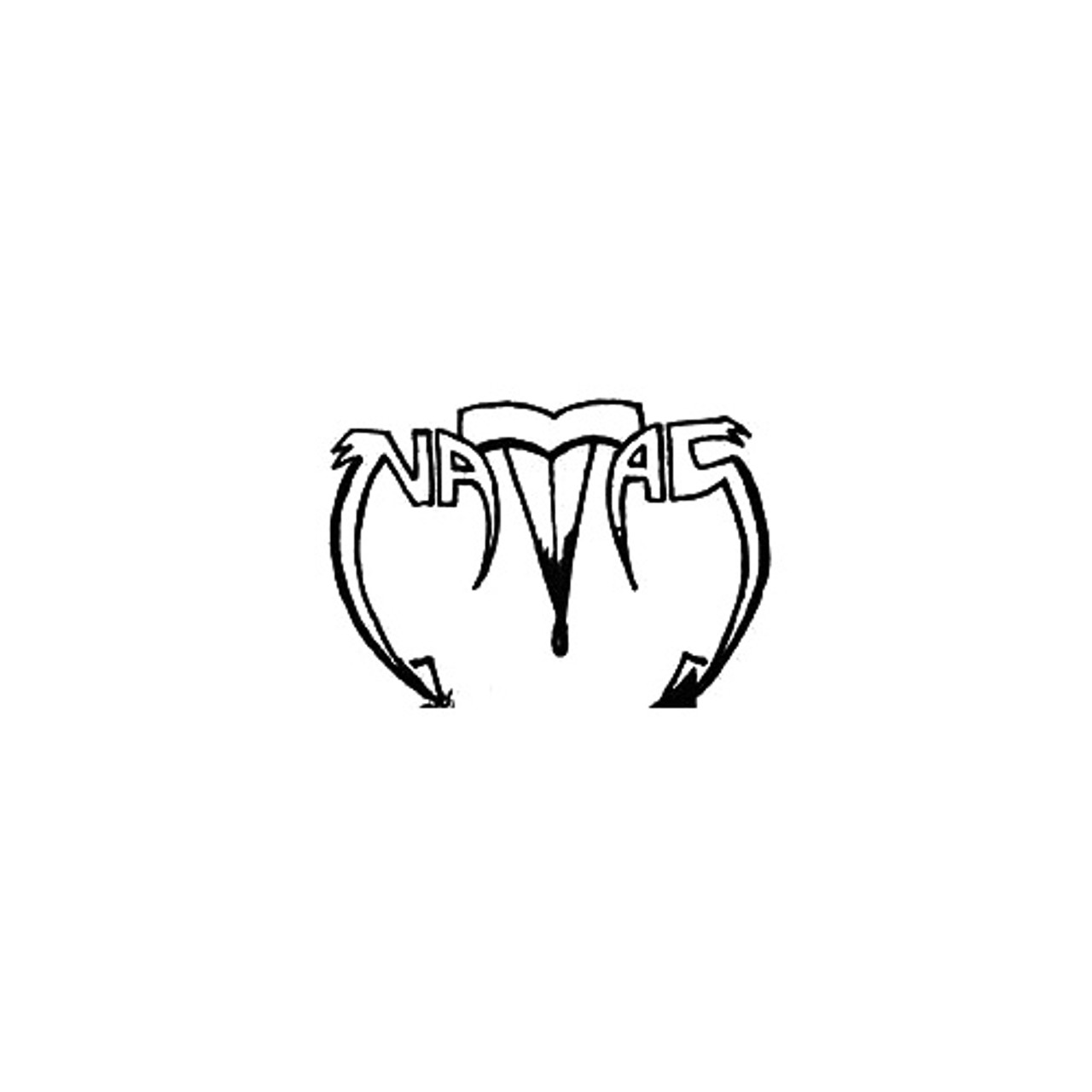 Natas Vinyl Sticker