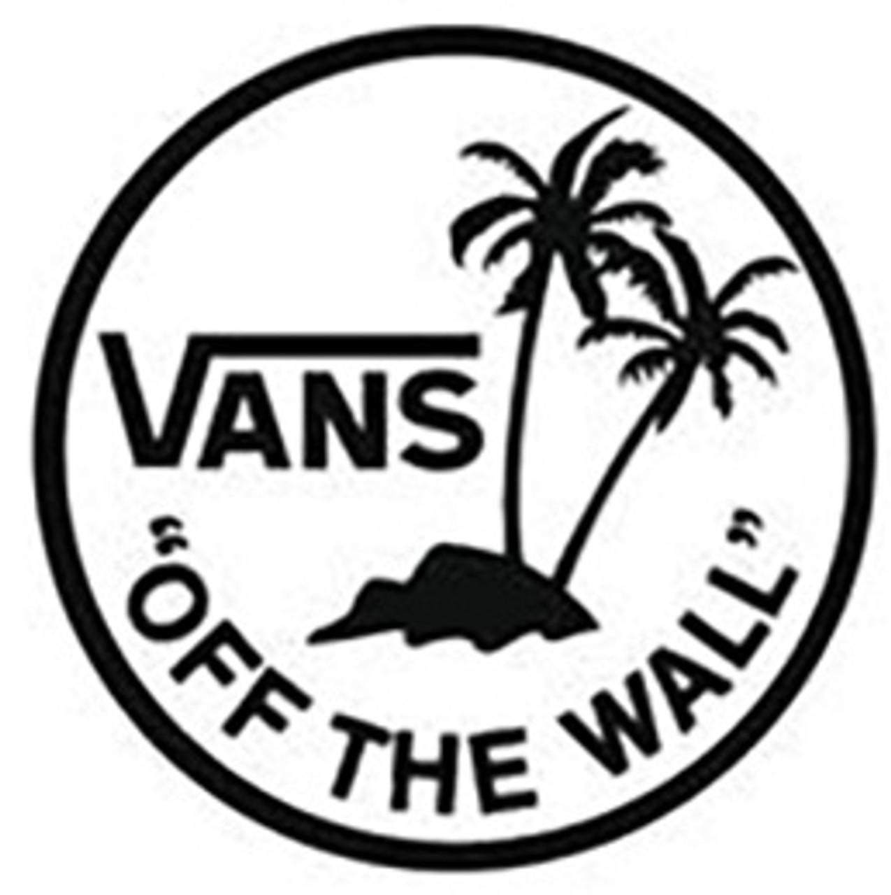 Vans Off The Wall Broloha Vinyl Decal Sticker