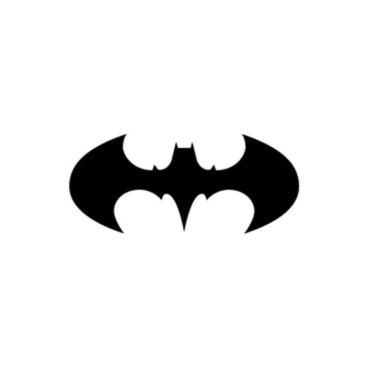 Batman logo batman 10 vinyl sticker