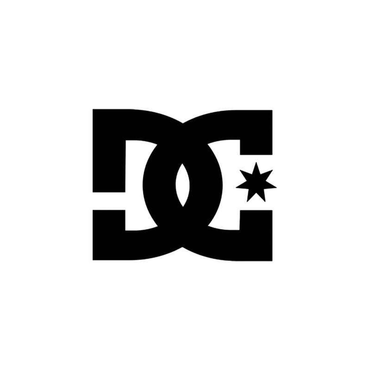 1bccc70fe2 Corporate Logo s Dc Shoes Style 1 Vinyl Sticker