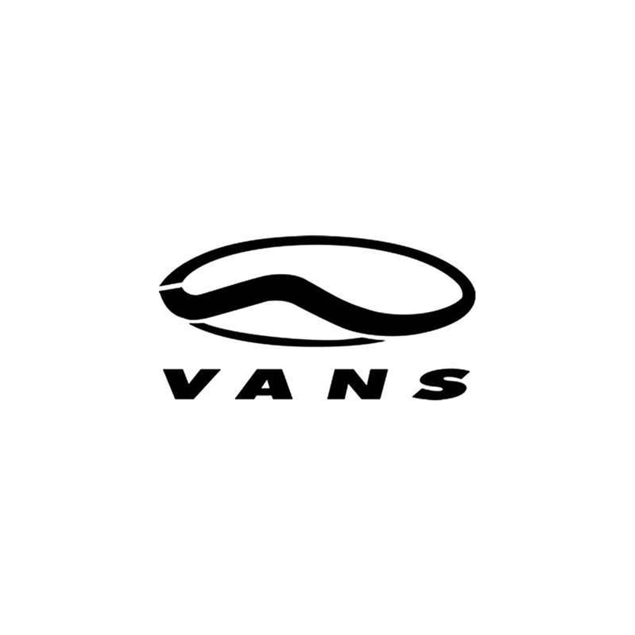 f5696e18e7 Corporate Logo s Vans Shoes Style 2 Vinyl Sticker