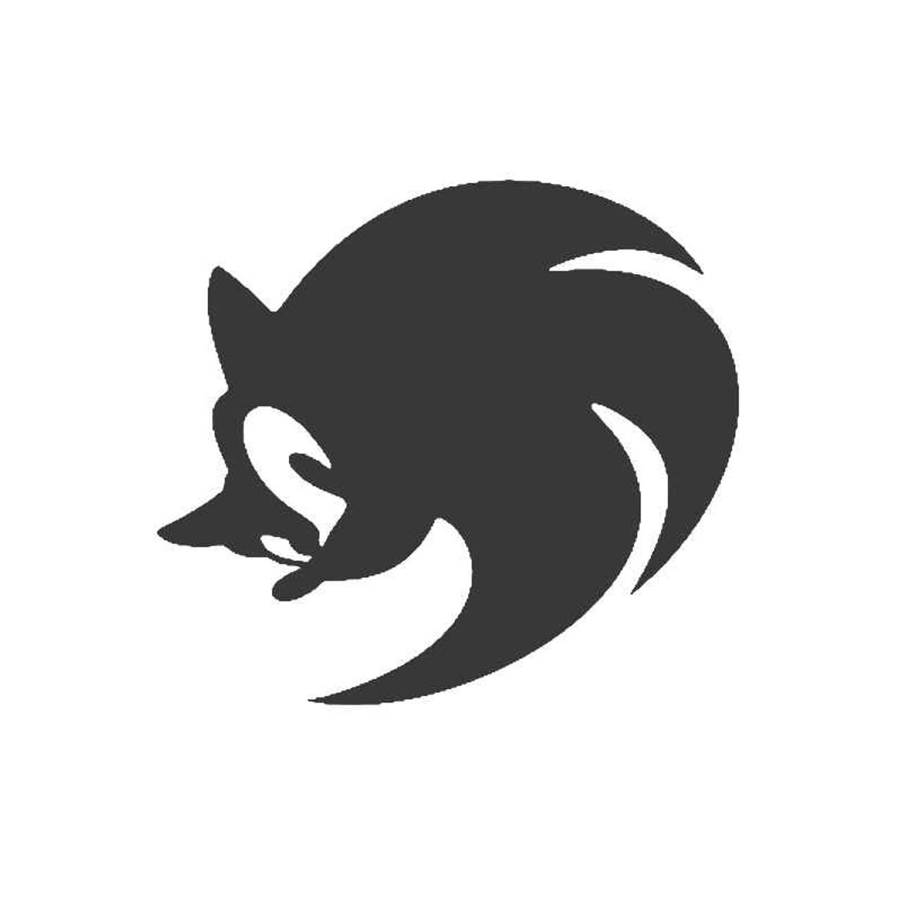 Sonic Hedgehog Modern Sega Nintendo Wii 3ds Xbox Vinyl Sticker