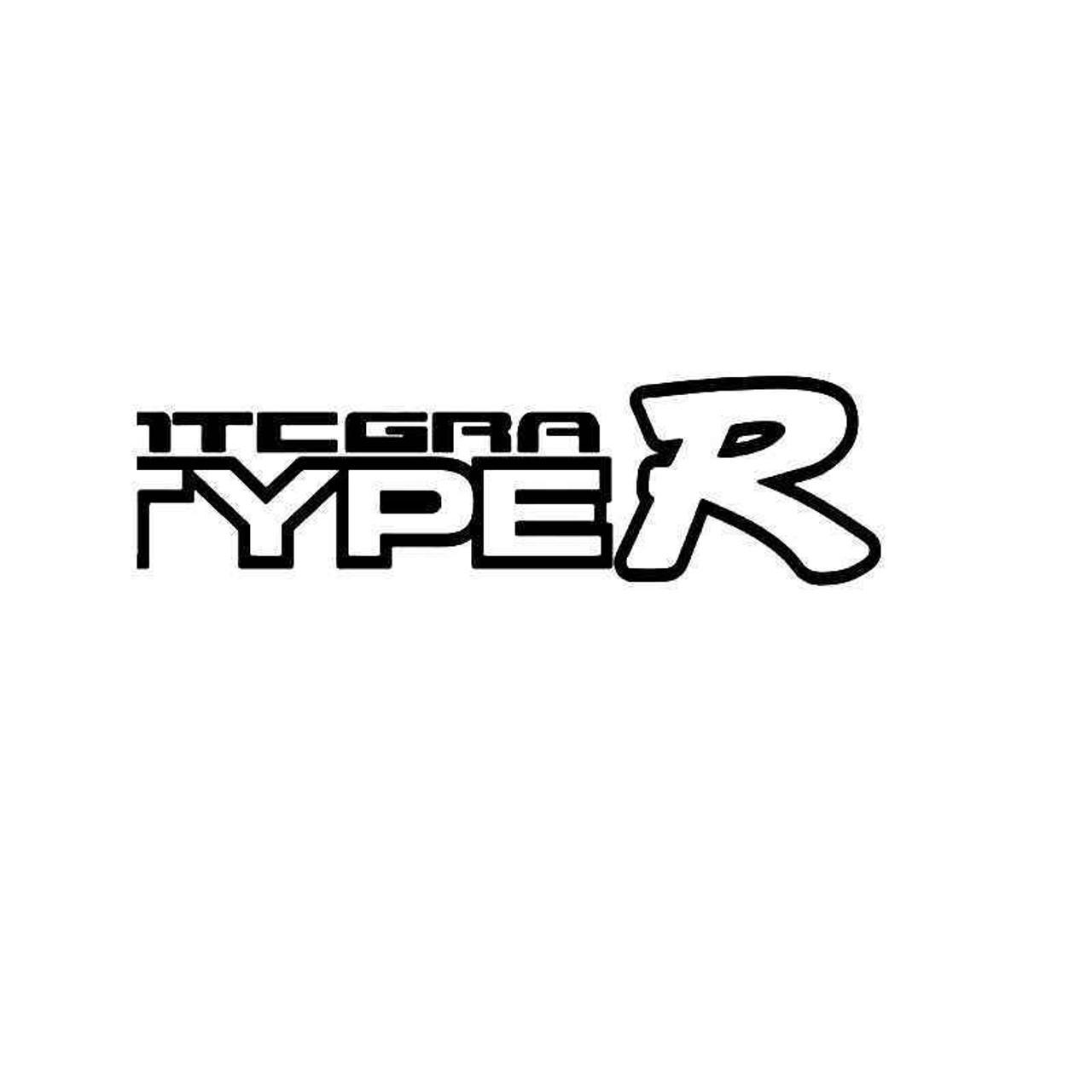 Acura integra type r 2 vinyl sticker