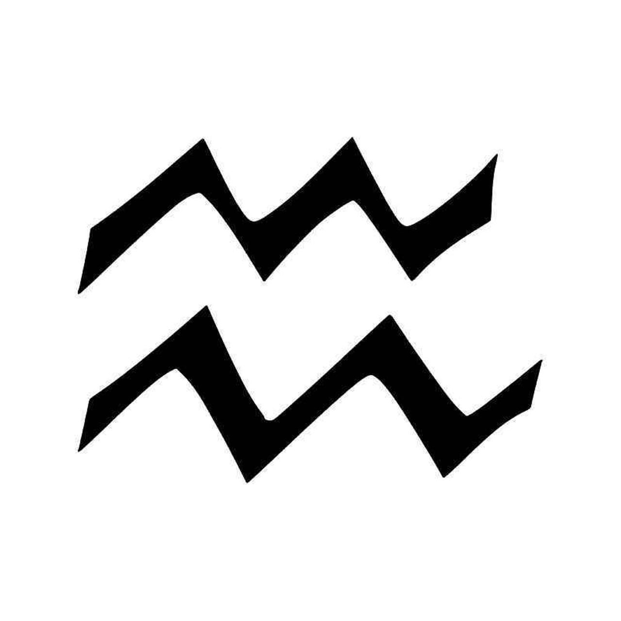 symbol for aquarius horoscope