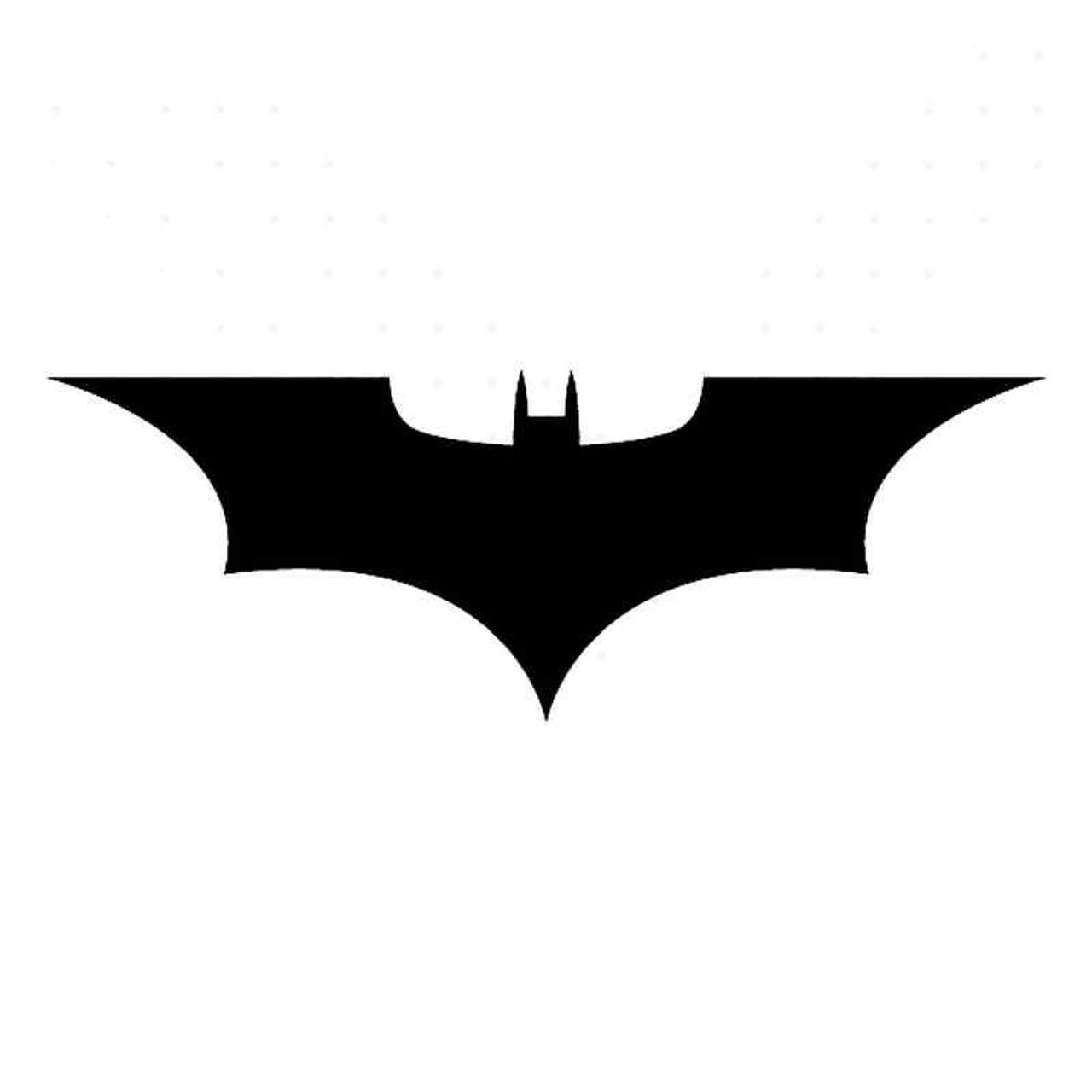 Batman symbol begins. Movie vinyl sticker