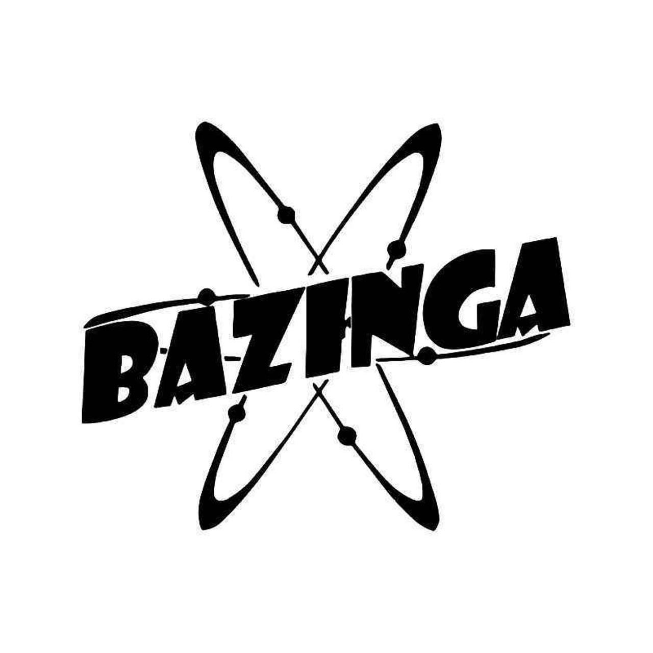 BAZINGA Vinyl Decal