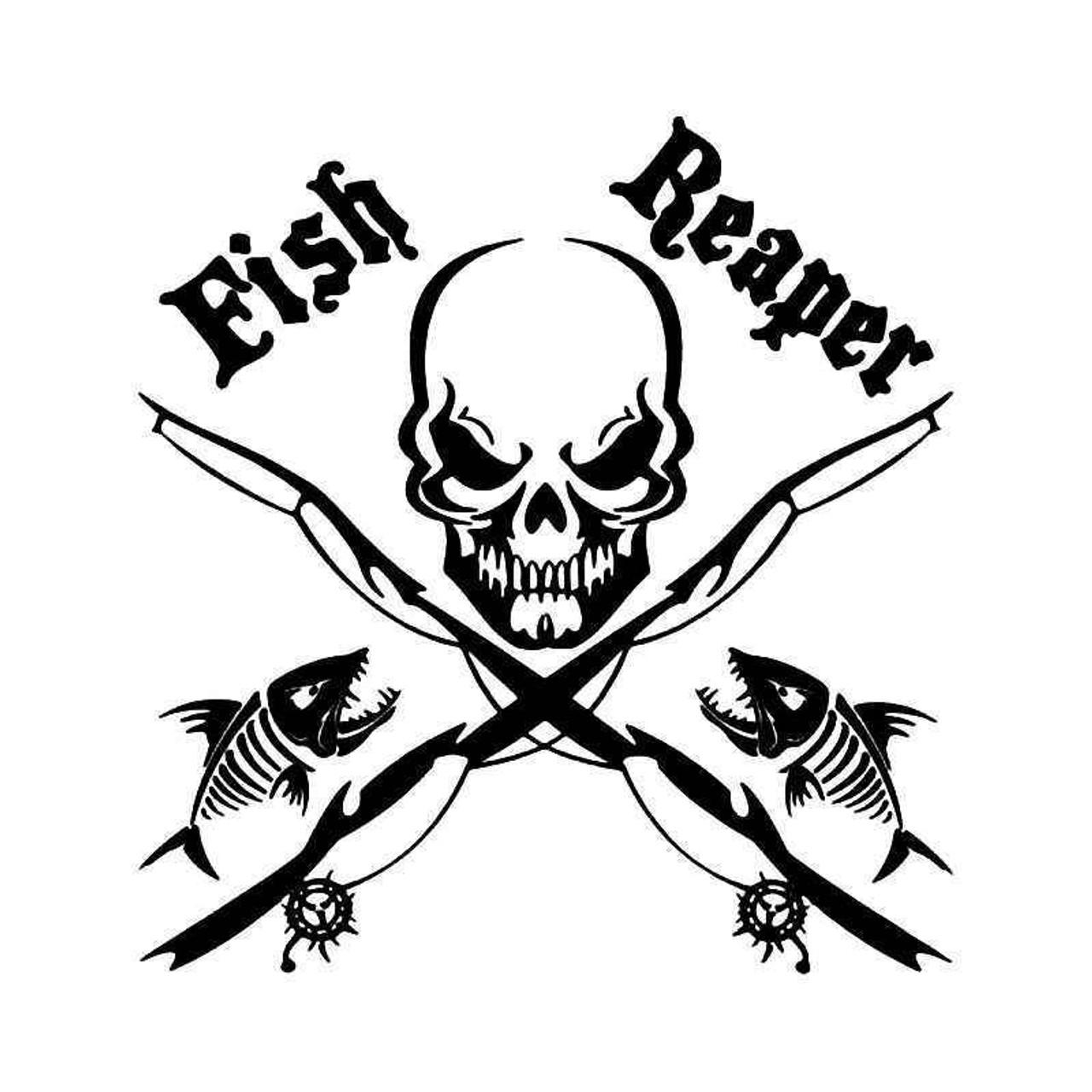 Fish On Fishing Vinyl Decal