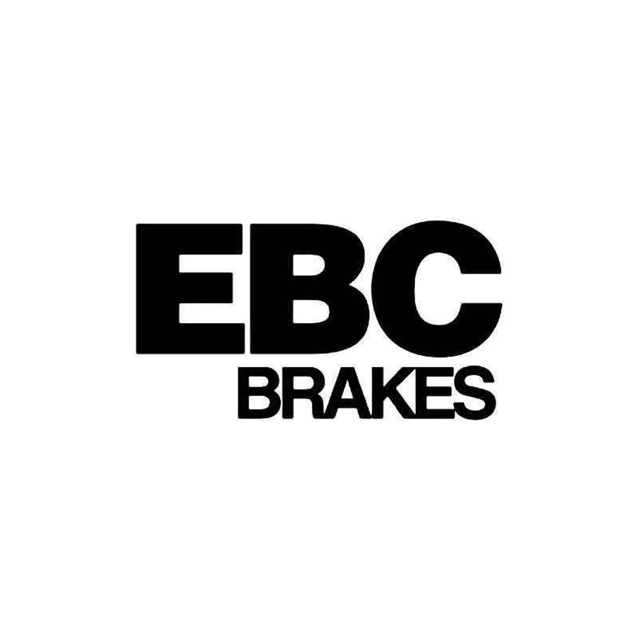 Ebc Brakes 1 Vinyl Sticker