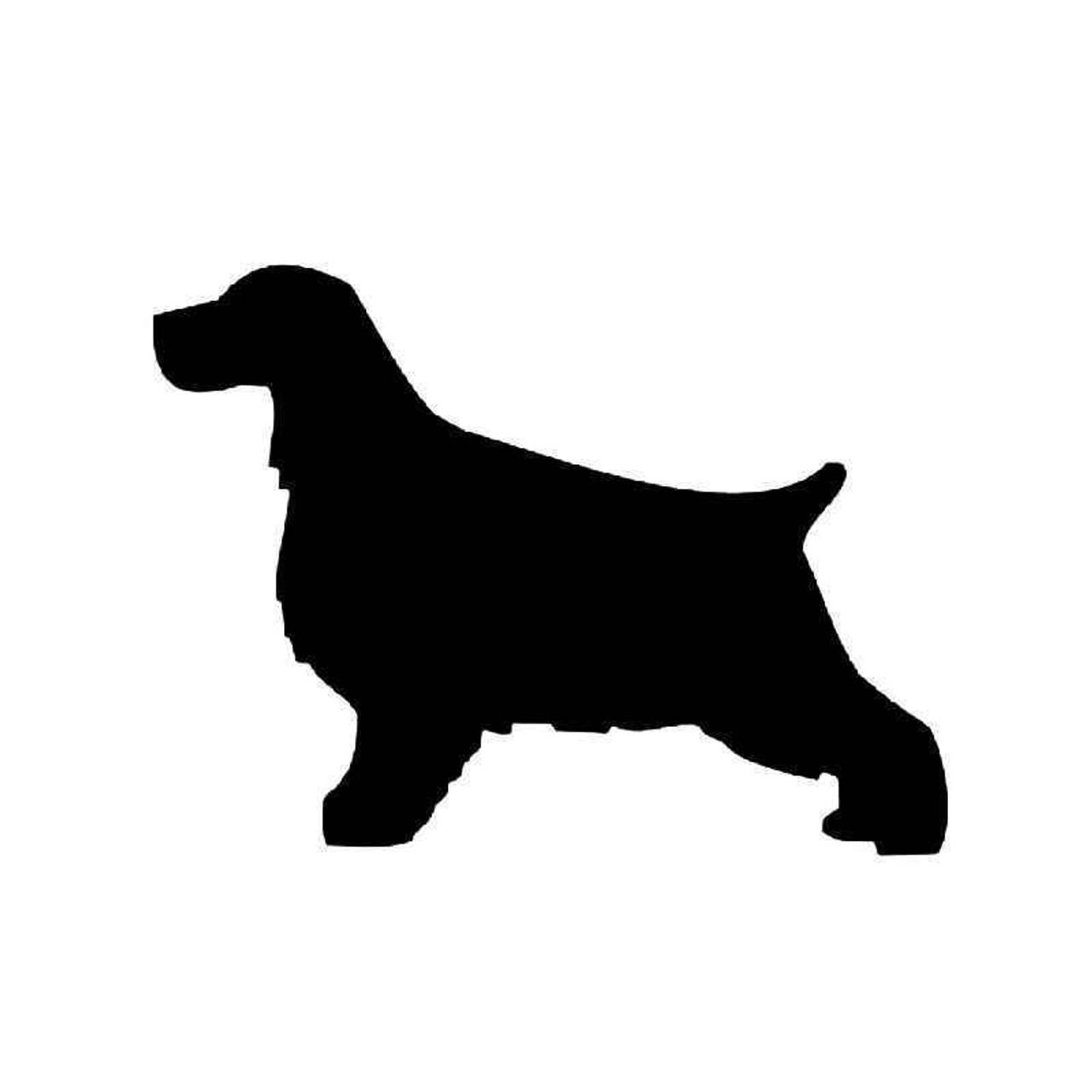 Cocker Spaniel Dog Personalised Jumbo Fridge Magnet