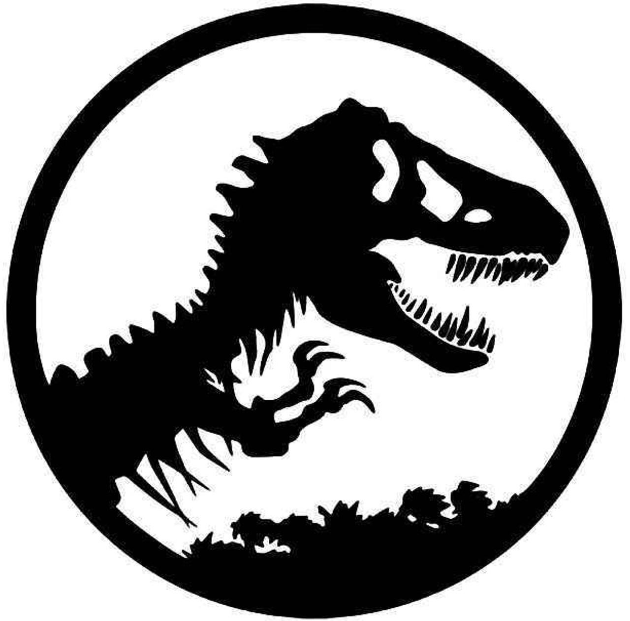 Jurassic Park T Rex Dinosaur Vinyl Sticker