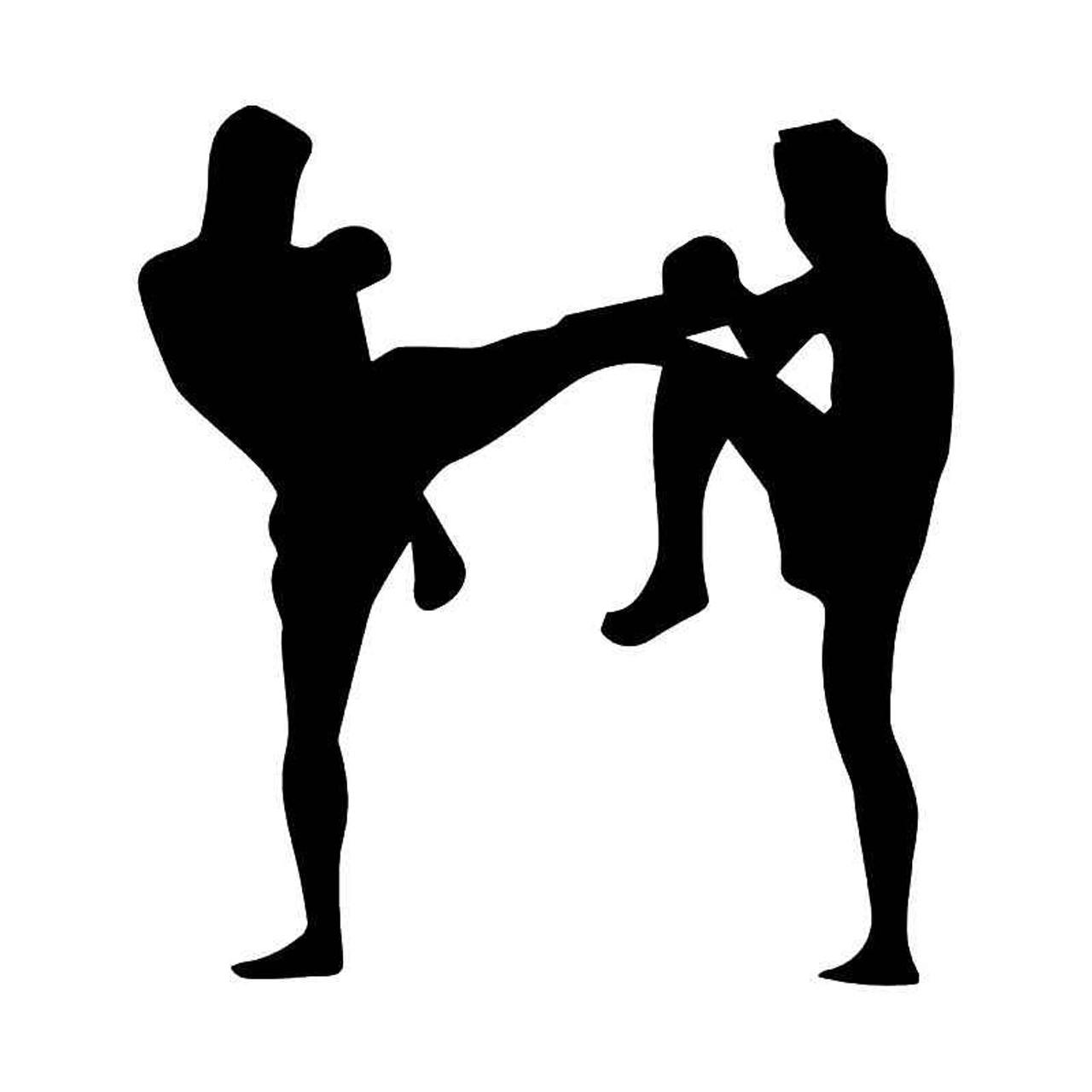 kickboxing Kickboxing decal kickboxing sticker