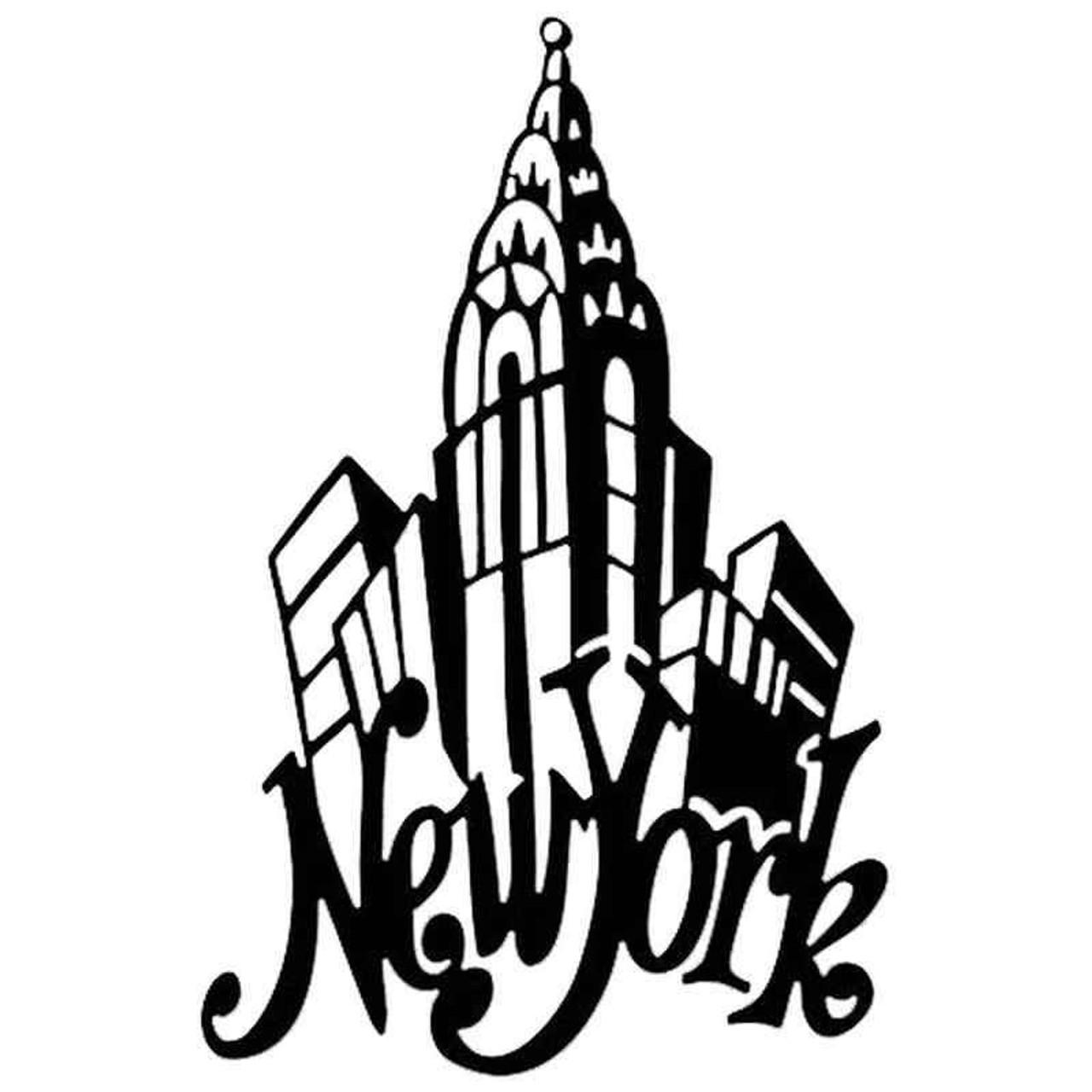 New York 1263 Vinyl Sticker