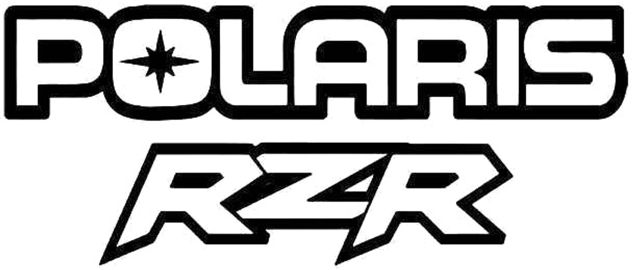 Polaris Rzr Utv 1 Vinyl Sticker