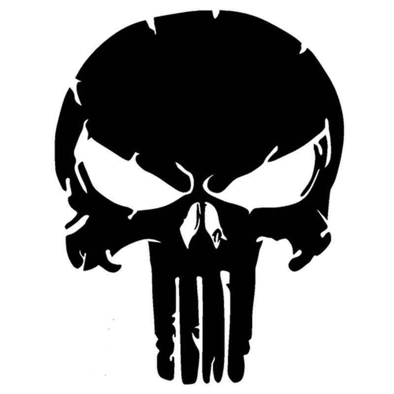Punisher Skull 1096 Vinyl Sticker