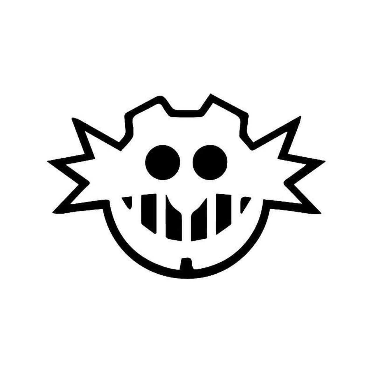 Sonic Hedgehog Dr Eggman Gaming Vinyl Sticker