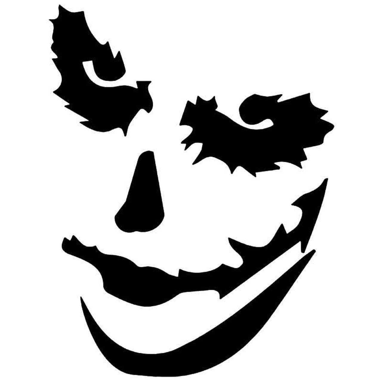 The joker face mask 1 vinyl sticker