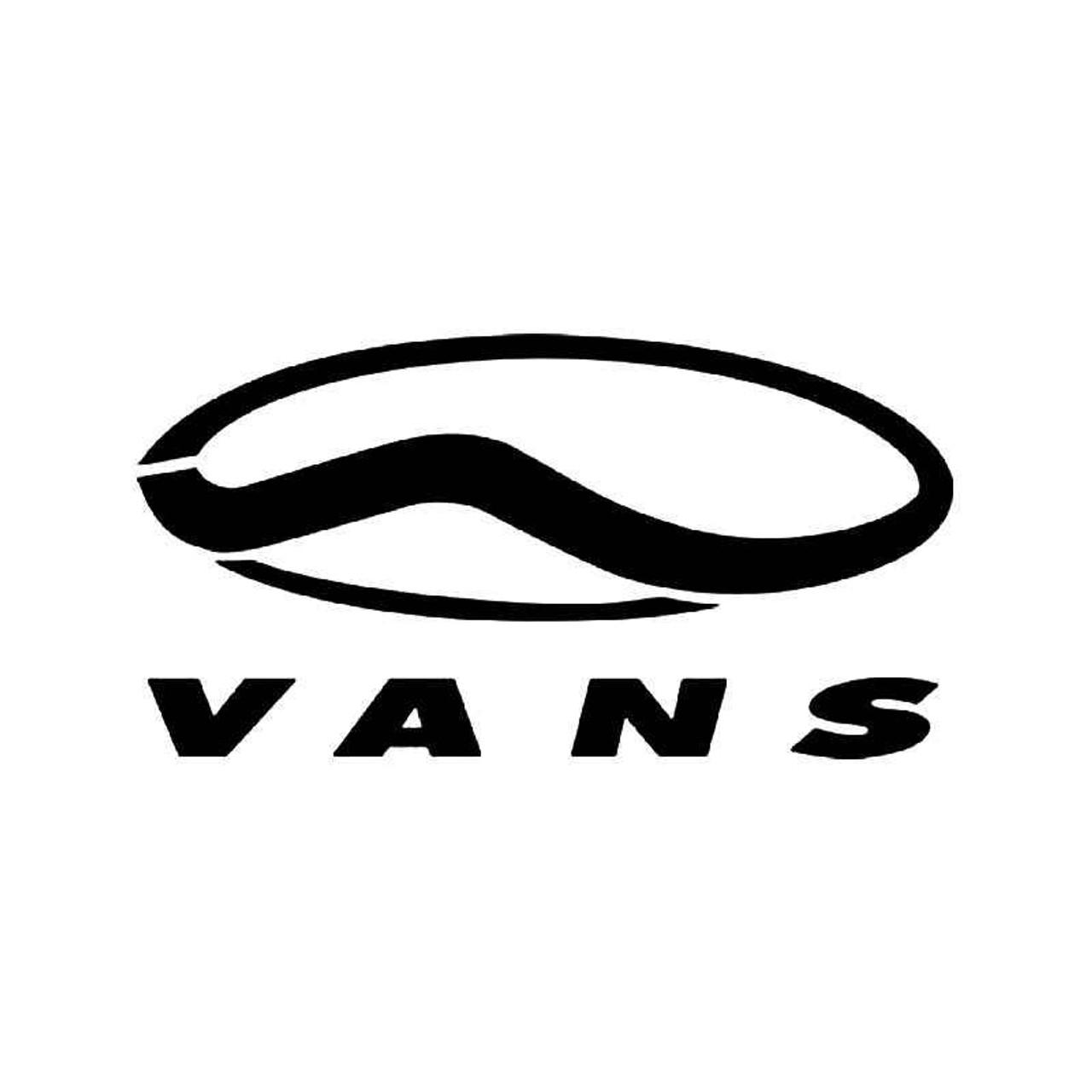 7f36fcdb5cdba5 Vans Surf Logo Vinyl Sticker