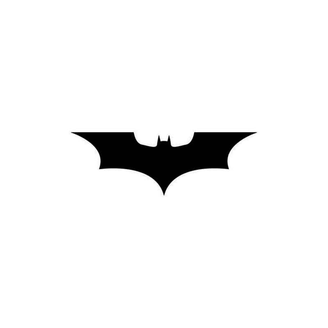Batman symbol dark knight. Dc comics logo decal