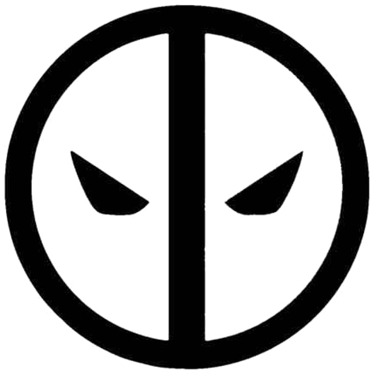 Deadpool Logo Symbol Decal