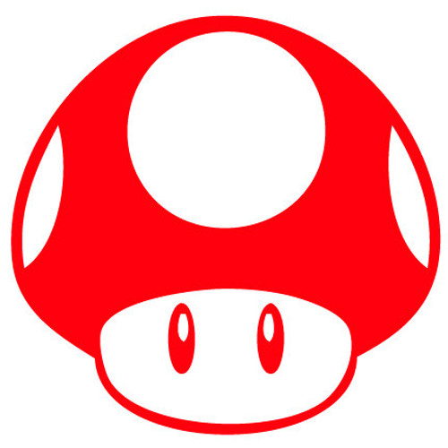 Power Up Mushroom Vinyl Decal Sticker High glossy, premium 3 mill vinyl, with a life span of 5 - 7 years!