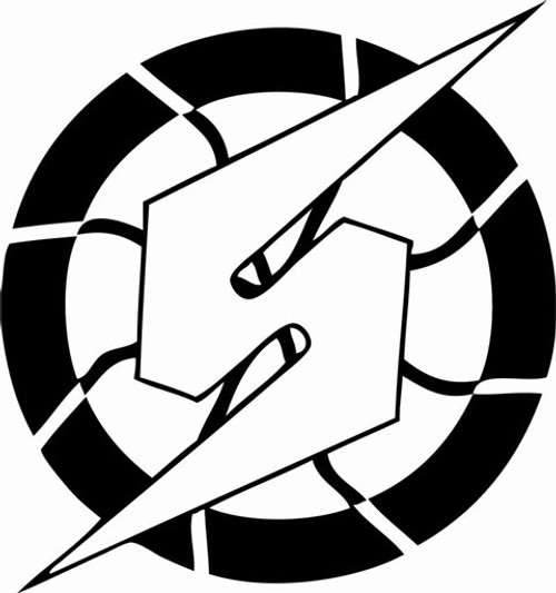 Samus Logo - Metroid Vinyl Decal Sticker High glossy, premium 3 mill vinyl, with a life span of 5 - 7 years!