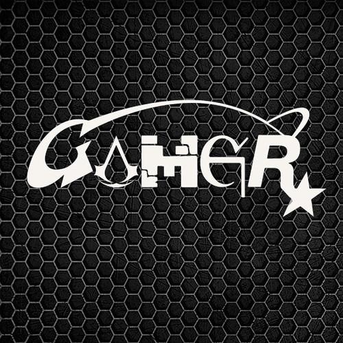 Gamer - Galaga RockStar Vinyl Decal High glossy, premium 3 mill vinyl, with a life span of 5 - 7 years!