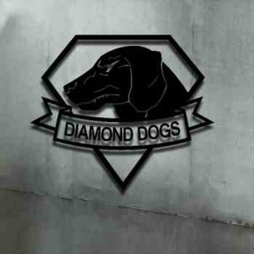Diamond Dogs MGS Vinyl Decal Sticker High glossy, premium 3 mill vinyl, with a life span of 5 - 7 years!