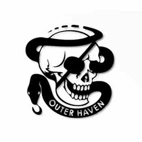 Metal Gear Solid Outer Haven Logo        Vinyl Decal High glossy, premium 3 mill vinyl, with a life span of 5 - 7 years!