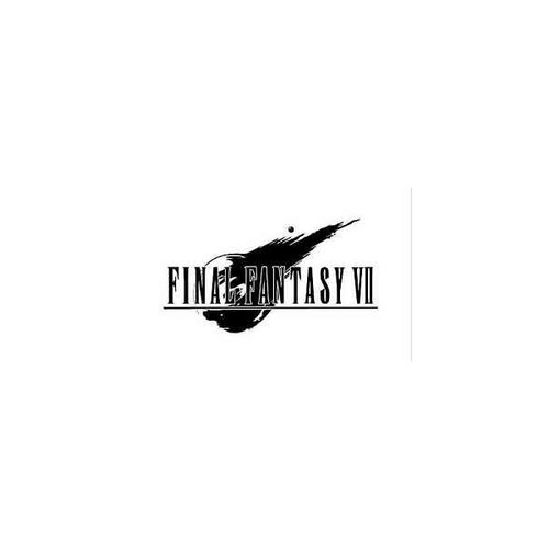 Final Fantasy VII 7       Vinyl Decal Sticker High glossy, premium 3 mill vinyl, with a life span of 5 - 7 years!
