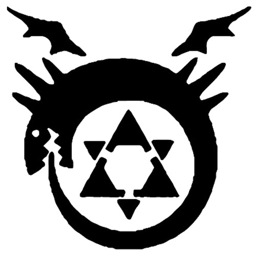 Full Metal Alchemist Blood Seal Vinyl Decal High glossy, premium 3 mill vinyl, with a life span of 5 - 7 years!