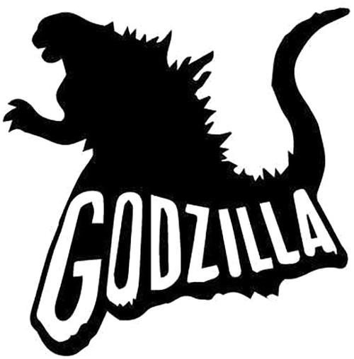 Godzilla with Text