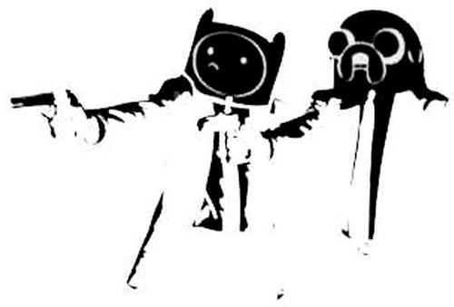 Adventure Time Pulp Fiction