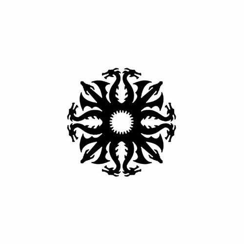 Game Of Thrones; Targaryen Snowflake  Vinyl Decal Sticker  Size option will determine the size from the longest side Industry standard high performance calendared vinyl film Cut from Oracle 651 2.5 mil Outdoor durability is 7 years Glossy surface finish