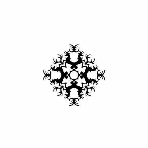 Game Of Thrones; Baratheon Snowflake  Vinyl Decal Sticker  Size option will determine the size from the longest side Industry standard high performance calendared vinyl film Cut from Oracle 651 2.5 mil Outdoor durability is 7 years Glossy surface finish