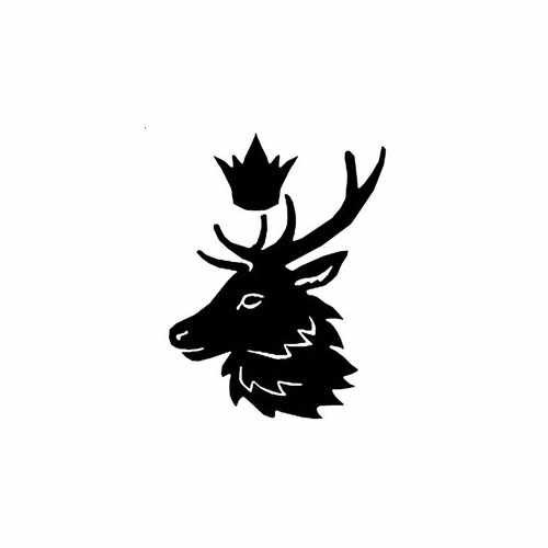 Game Of Thrones; Baratheon  Vinyl Decal Sticker  Size option will determine the size from the longest side Industry standard high performance calendared vinyl film Cut from Oracle 651 2.5 mil Outdoor durability is 7 years Glossy surface finish