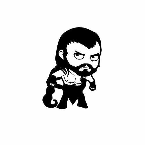 Game Of Thrones; Baby Khal Drogo  Vinyl Decal Sticker  Size option will determine the size from the longest side Industry standard high performance calendared vinyl film Cut from Oracle 651 2.5 mil Outdoor durability is 7 years Glossy surface finish