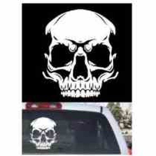 Skull  Decal High glossy, premium 3 mill vinyl, with a life span of 5 - 7 years!