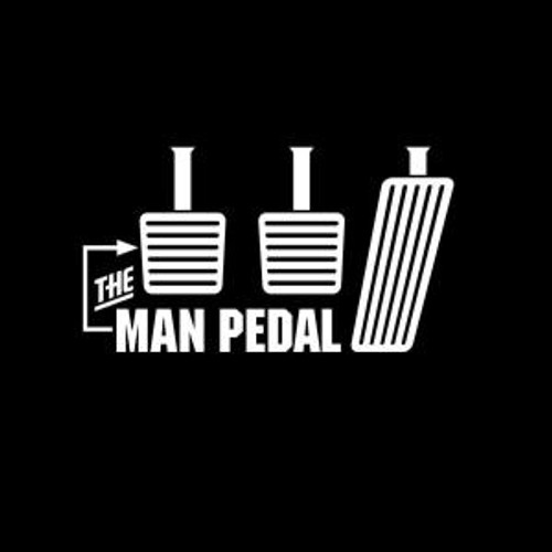 The Man Pedal  Decal High glossy, premium 3 mill vinyl, with a life span of 5 - 7 years!