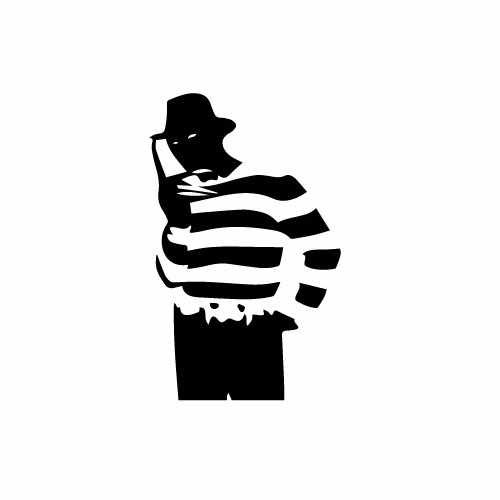 Freddy Krueger Vinyl Decal