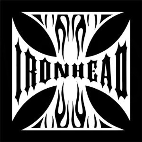 Maltese Cross Ironhead  Decal High glossy, premium 3 mill vinyl, with a life span of 5 - 7 years!