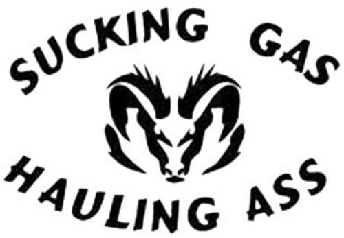 Sucking Gas Hauling Ass Dodge