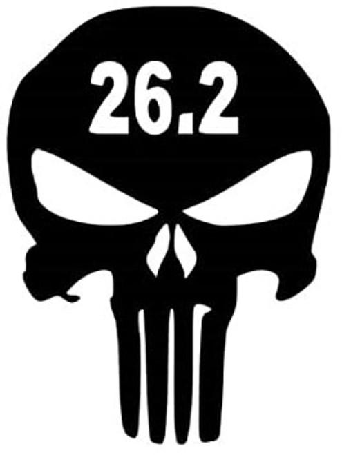 Punisher Skull 26.2 Marathon