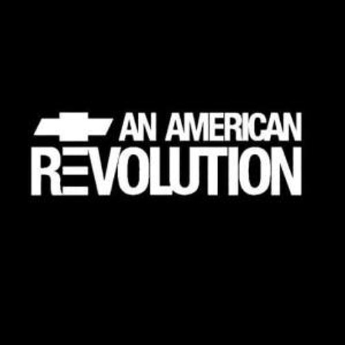 Chevy and American revolution  Decal High glossy, premium 3 mill vinyl, with a life span of 5 - 7 years!