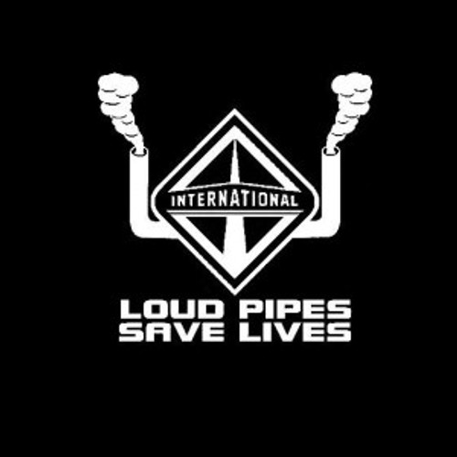 Loud Pipes Save Lives International  Decal High glossy, premium 3 mill vinyl, with a life span of 5 - 7 years!