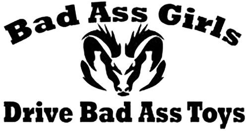 Bad Ass Girls Drive Dodge